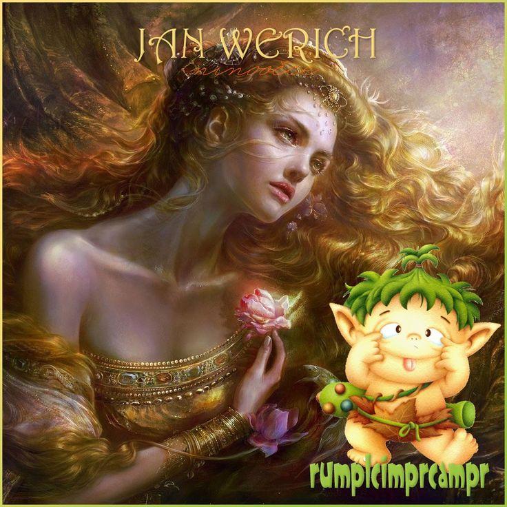 Hrášková princezna a skřítek se šišatou hlavou - Jan Werich