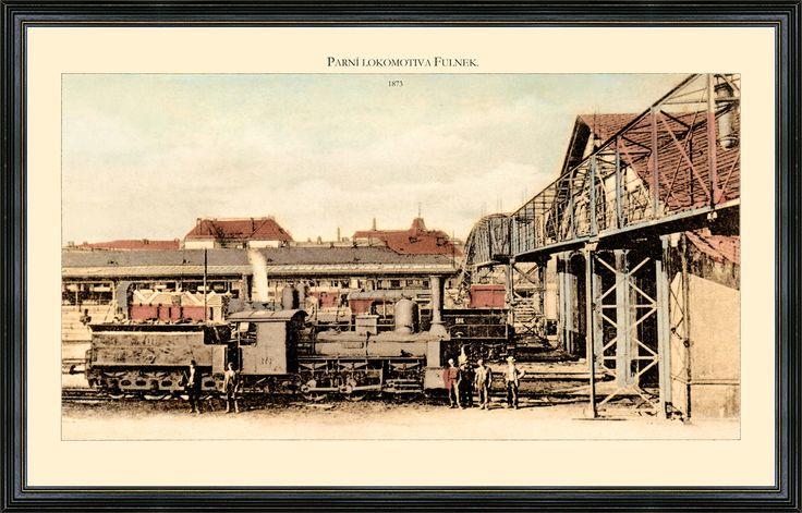 Parní lokomotiva Fulnek