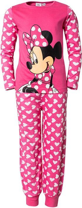 Minnie Mouse - Minni Hiiri, Yöpuku sydänkuviolla, Pinkki, koko 104 tai 110 cm. 17,18 €