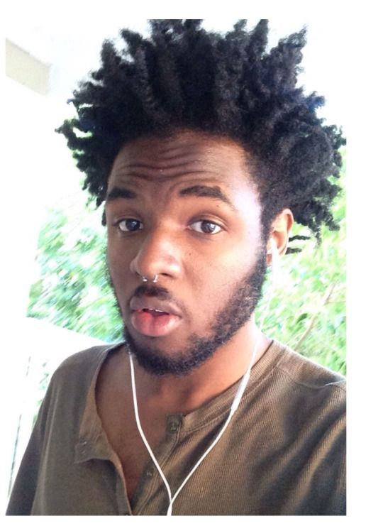 260 Best Images About Men Natural Hairstyles On Pinterest