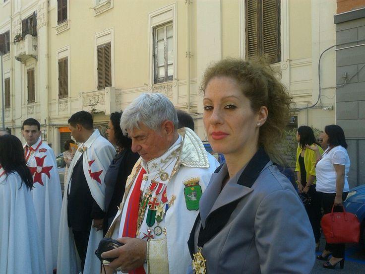 IL MI AMICO NOBILE,IL CONTE GIOVANNI BOSIO CON LA BARONESSA MARY.