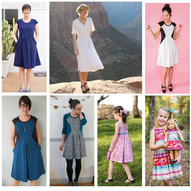 Super Easy Convertible Skirt/Dress | Sew Mama Sew | Outstanding sewing, quilting, and needlework tutorials since 2005.