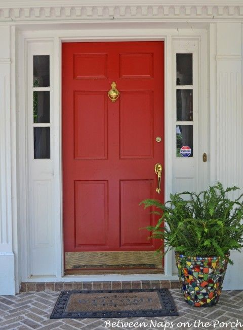17 Best Images About Front Door Color Red On Pinterest