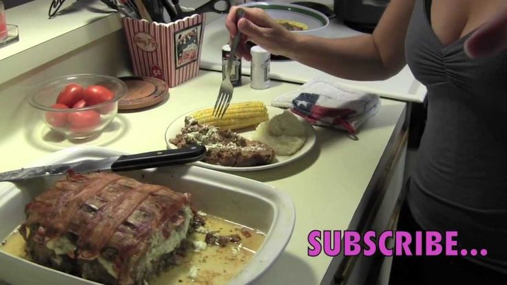 How to make Meatloaf with Jalapeño & creme cheese stuffing