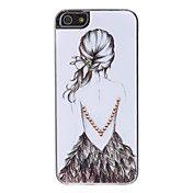 meisje 'back patroon harde case voor iPhone 5... – EUR € 3.67