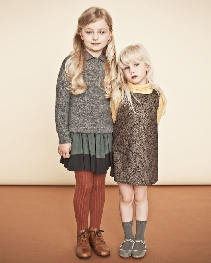 okay both of these little children have more style and cuter clothes