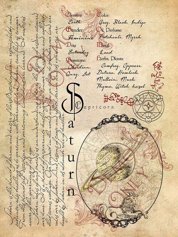 Cackling Cauldron book of shadows: Planetary Set 3 by AundriaDees