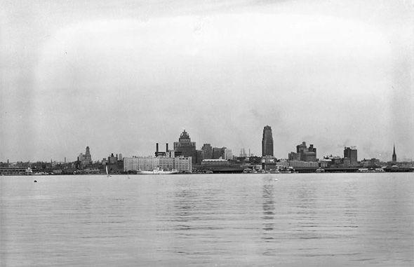 Toronto skyline 1930s