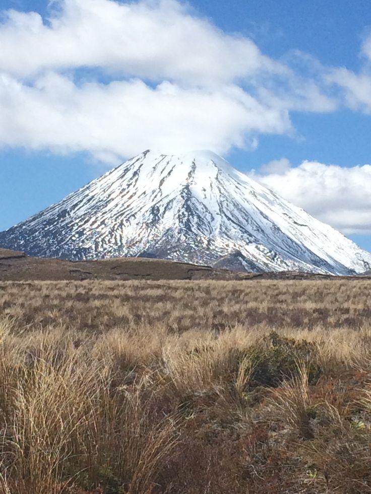 Mt. Raupehu, Tongariro National Park, NZ