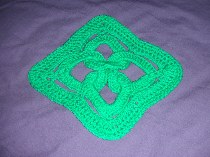 Celtic Knot Dishcloth http://www.yarnspirations.com/assets ...