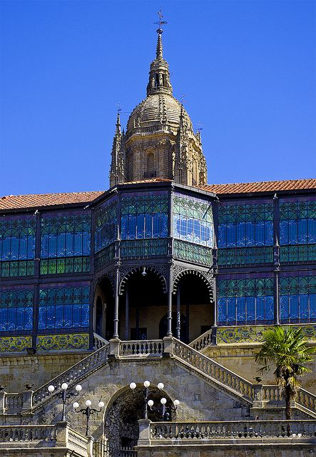 The Casa Lis Museum of Art Noveau in Salamanca   went here today!