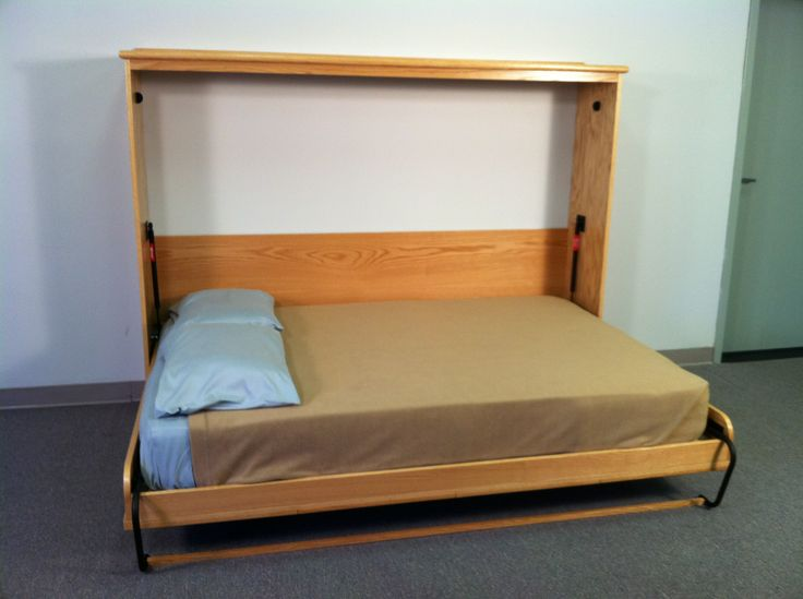 the 25 best full size murphy bed ideas on pinterest hide a bed murphy bed plans and murphy. Black Bedroom Furniture Sets. Home Design Ideas