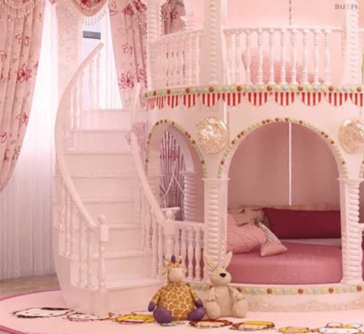 Beautiful Unique Children S Pink Castle Bed Princess Bedrooms Girls Furniture Childrens Princess Bedrooms