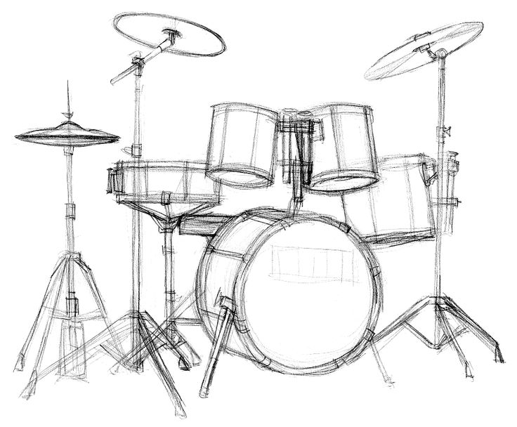 The 25 Best Drum Drawing Ideas On Pinterest