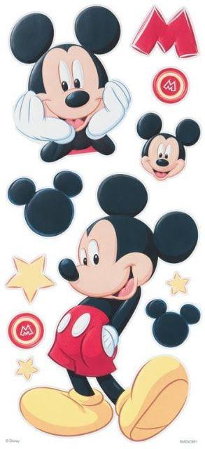 Imprimibles de Mickey Mouse 12.                              …