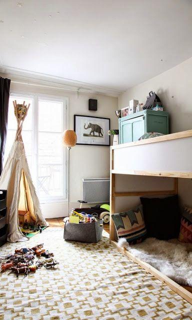 loft beds ikea kura and the boy on pinterest. Black Bedroom Furniture Sets. Home Design Ideas