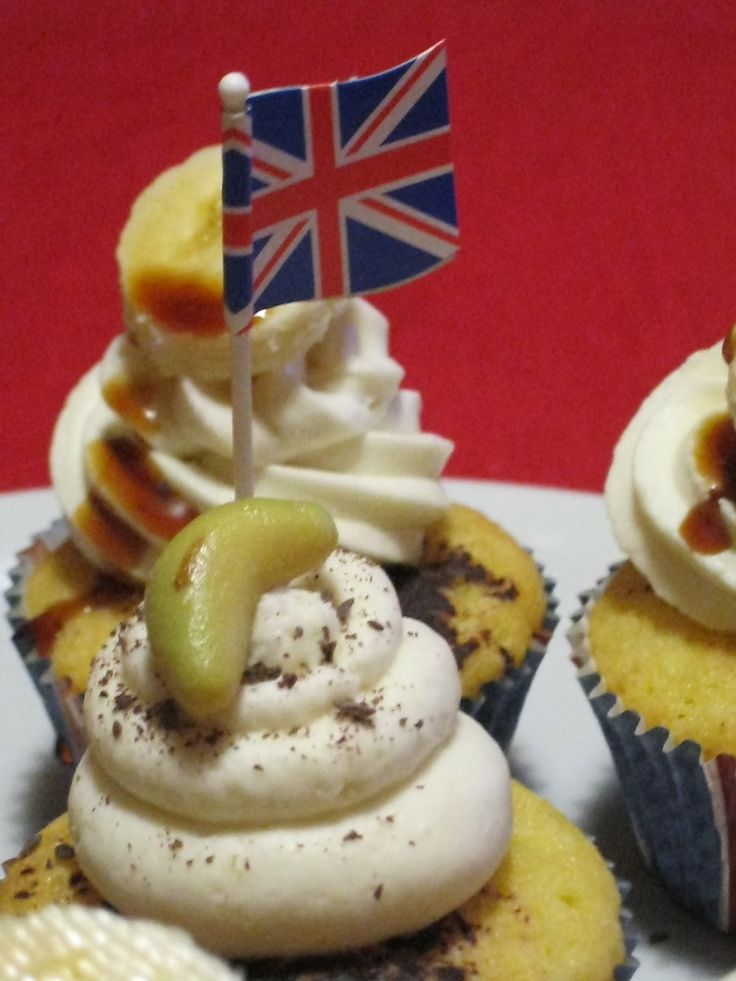 Mycakeisluka goes to London: banoffee cupcake in stile Peggy Porschen |