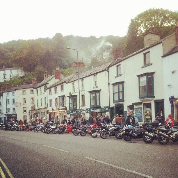 Matlock Bath in Derbyshire, Derbyshire