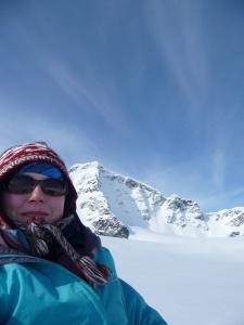 Charlotte Axtell, PhD student at Swansea University (glacio-geophysics)