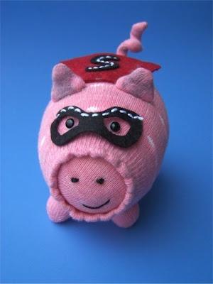 Tutorial: super pig toy softie sewing pattern
