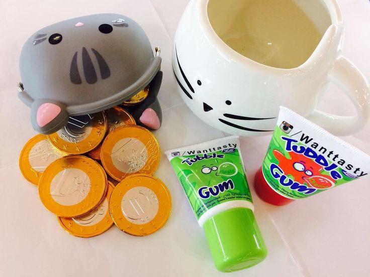 кружка кошка 399 монетница кошка 229 шоколадные монеты 15 жвачка Tubble gum 139 #wanttasty
