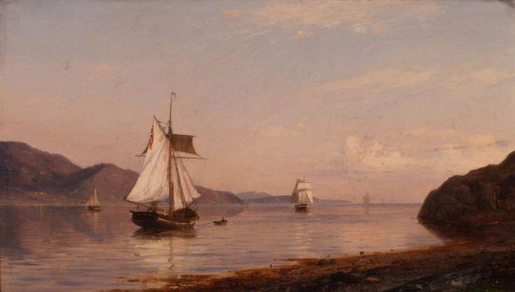 Amaldus Clarin Nielsen Bømmelfjorden, 1878