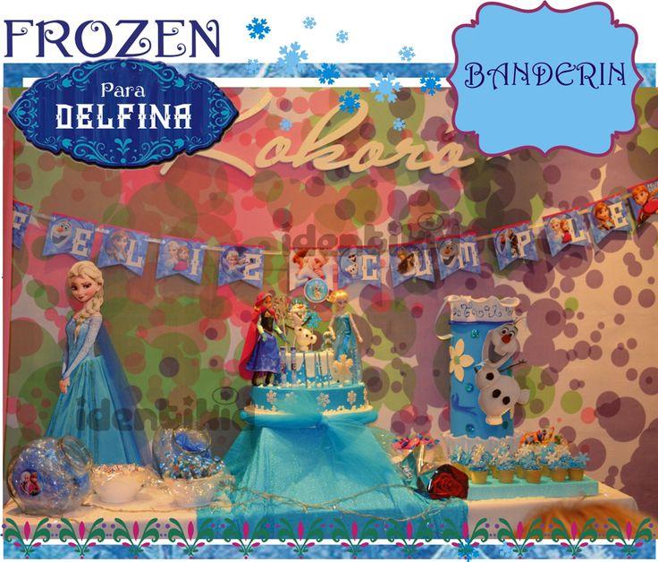 IDENTIKID, Frozen - Banderines, Cartel de Bienvenida, Emboltorios para golosinas, invitaciónes, bolsas, souvenirs, Camino de mesa, stickers, cajitas, todo personalizado para tu fiesta www.facebook.com/identikid