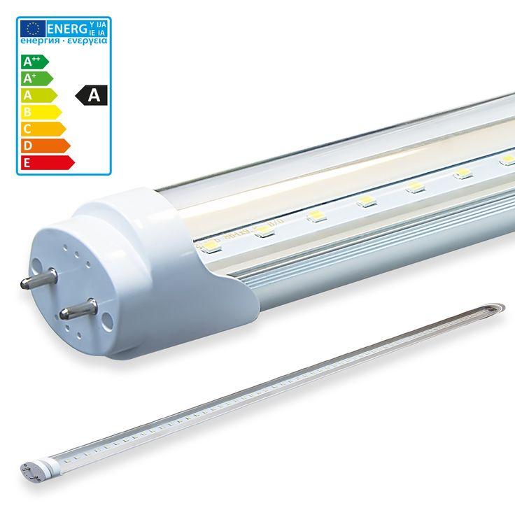 LEDVero SMD LED Röhren T8 G13 transparente oder milchig   Ihre Vorteile im Überblick:     LEDVero LED Röhren haben einen geringen Energieverbrauch und sparen zu herkömmlichen Leuchtstofflampen bis zu 66% Energie Unsere LED Röhren haben sehr hohe Betriebsstundenzahlen von bis zu 50.000 Stunden bei mind. 200.000 Schaltzyklen Unsere LEDVero LED Röhren sind bruchfest, geschützt durch einen Aluminiumkühlkörper