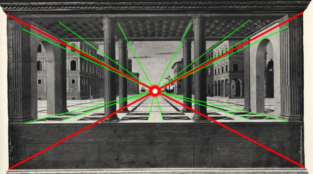 La Città ideale di Berlino non è di Leon Battista Alberti ma di Luciano Laurana ed è del 1470.