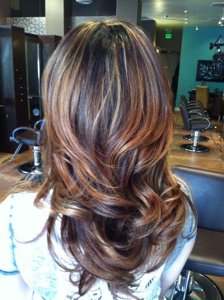 Partial Highlight Ombr 233 Hair Pinterest
