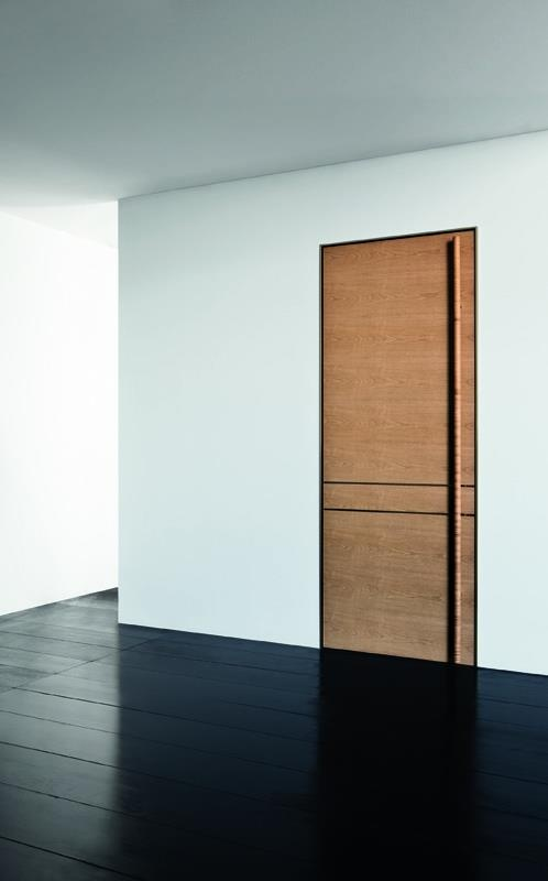 Midtown : Bois noyer blanchi    #door  #indoor  #porte