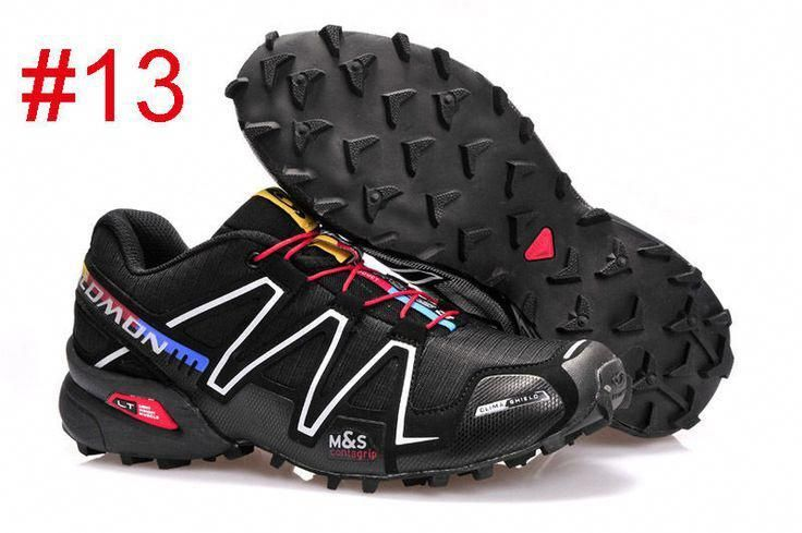 65da1e0b814a 2016 New Hot Mens Salomon Speedcross 3 Athletic Running Outdoor Hiking Shoes  black + colorful