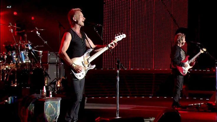 """""""Roxanne"""" de The Police, en vivo desde el """"Tokyo Dome"""" (2008) en Japón. Parte de uno de los conciertos mas importantes de su ultima gira ese año."""