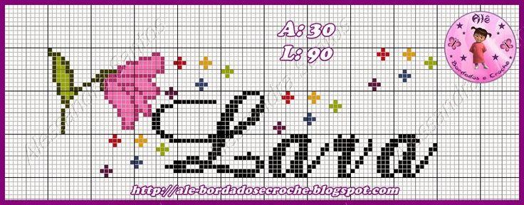 Alê - Bordados e Crochê: Gráficos de ponto cruz - Eu q. fiz! rsrsrs...