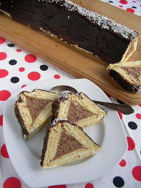 Kuchnia szeroko otwarta: Chatka - ciasto bez pieczenia