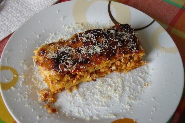 Make My Day! : Κανελόνια με κιμά κοτόπουλου και σάλτσα τυριού