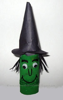 Crafts~N~Things for Children: 9 Toilet Paper Tube Halloween Characters