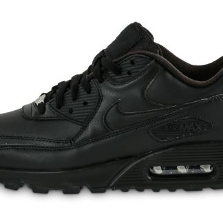 Nike Air Max 90 Leather Noire Baskets/Running Homme