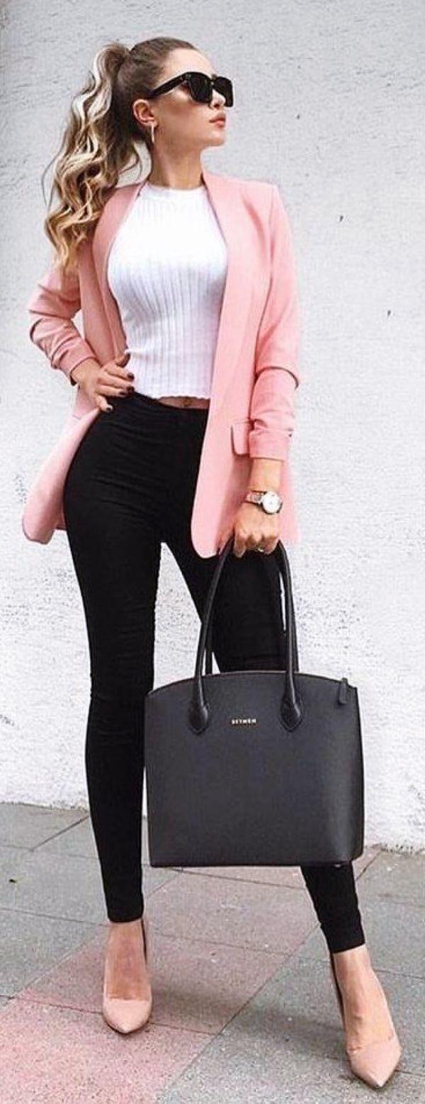 20 tenues de travail décontractées à la mode pour femmes