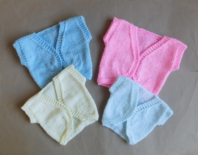 Little Angel Baby Cardigan   The perfect stockinette stitch baby cardigan.