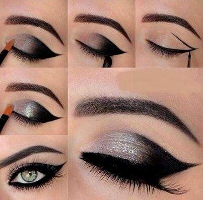 Diferentes tipos de delineados de ojos |Cuestiones de mujeres By C.