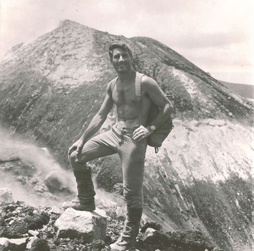 Walter Bonatti, explorer extraordinaire.
