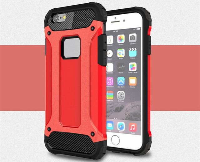 Strong Hybrid Shockproof Case - iPhone 5,6,7, Plus