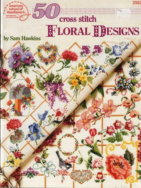 Gallery.ru / Фото #1 - 50 Cross Stitch Floral Designs - OlgaHS