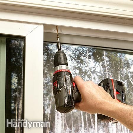 10 Safe Home Security Tips: Make sliding doors in your home more secure with anti-jacking screws. Get the tips: http://www.familyhandyman.com/home-security/safe-home-security-tips/view-all