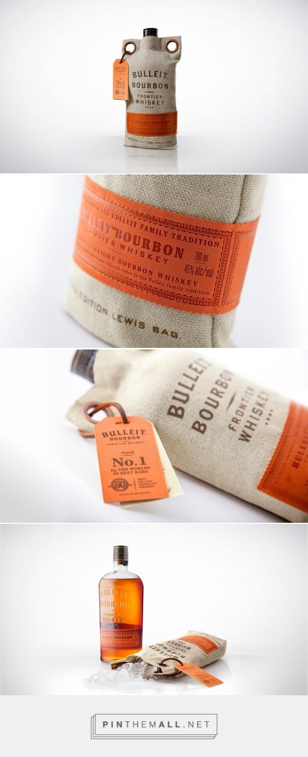 Bulleit Bourbon Frontier Whiskey packaging design by ButterflyCannon - http://www.packagingoftheworld.com/2016/11/bulleit-bourbon-frontier-whiskey.html