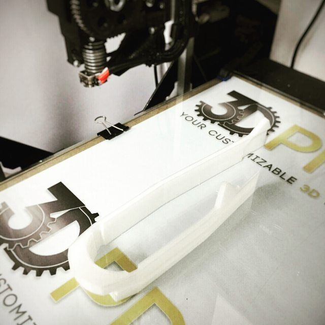 Test con filamento in nylon di Filoalfa.  Ottimo  Test with filament nylon made by Filoalfa. Great!  #filoalfa #3dprinting #3dprinted #3dprint #filament #pla #test #stampa3d #maker #makers #nylon by stampa3d_hitechlab