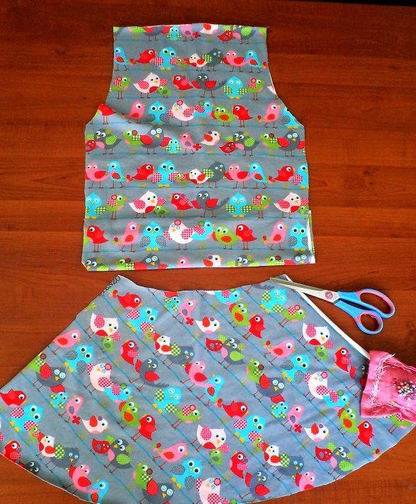 Kolay Kız Çocuk Elbise Dikimi Nasıl Yapılır ?