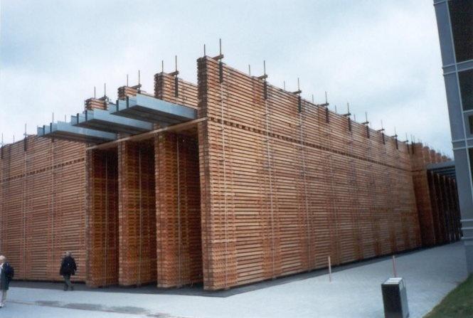Pabellón de Suiza en la Expo 2000