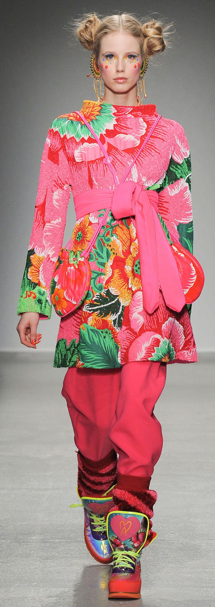 Full on out there prints/ mix and match prints/ matchy matchy Manish Arora - Fall 2014 | The House of Beccaria~